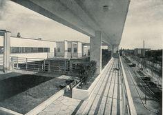Casa Rustici Roof Terrace. Milan, Italy 1933.
