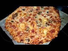 masa de pizza y salsa de tomate natural Monsieur Cuisine