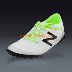 Zapatillas de futbol Sala New Balance Visaro Control TF Blanco Toxico