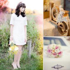 Mod 1960s Wedding Inspiration