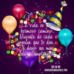 Happy Birthday In Spanish, Happy Birthday Notes, Happy Birthday Pictures, Birthday Fun, Happy Birthday Greetings Friends, Birthday Wishes Quotes, Birthday Message For Him, Free Birthday Invitations, Happy B Day