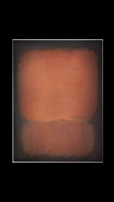 """Mark Rothko - """" No. 10 """", 1958 - Huile sur toile - 239,4 x 175,9 cm"""