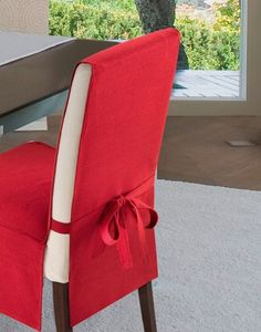 16 Example of a chair cover to give the dining room a different look . 16 Example of a chair cover to give the dining room a different look Dining Chair Covers, Dining Chair Slipcovers, Furniture Covers, Sofa Covers, Table Covers, Diy Furniture, Kitchen Chair Covers, Dining Chairs, Patio Chairs