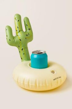Cactus Drink Holder Pool Float
