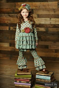 19 Best Mustard Pie Clothing Images Girl Outfits Kids
