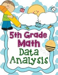 Th Grade Math Data Analysis  Pie Graph Bar Graphs And Math
