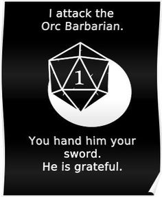 I may be called a nerd, but role-playing brought me so many good memories. Geeks, Dungeons And Dragons Memes, Dnd Funny, Dragon Memes, Tabletop Rpg, Thing 1, Pen And Paper, Funny Games, Decir No