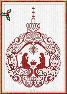 Gallery.ru / Фото #3 - Manger Ornament christmas - mtecuka