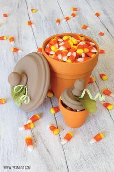Terra Cotta Pumpkin Tutorial - Fall Idea
