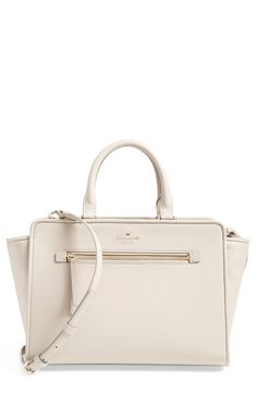 A fit & flare dress would look so polished with this stylishly structured Kate Spade satchel.