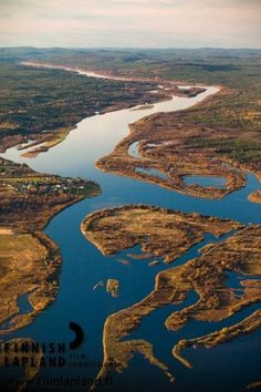 Aerial view of Rovaniemi, Finnish Lapland. Photo by Jani Kärppä. #filmlapland #finlandlapland #arcticshooting