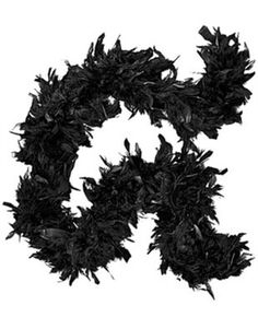 Black Friday Deluxe Large Black 72 Costume Accessory Feather Boa [Apparel] from Rhode Island Novelty Cyber Monday Gatsby Costume, Flapper Costume, Burlesque Costumes, Flapper Dresses, Halloween Accessories, Costume Accessories, Party Accessories, Gangster Costumes, Gatsby Girl