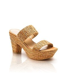 These Stuart Weitzman sandals for comfort and style. PEACEFUL