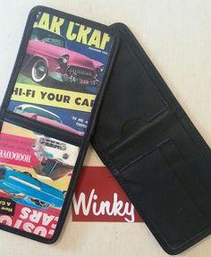 Vintage Winky&Dutch Black  WALLET  1955 Bel by WinkyDutchCoStore