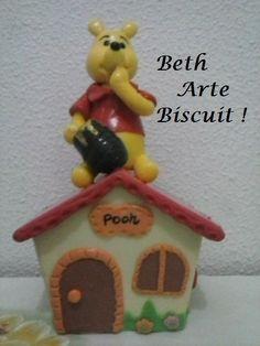 ursinho Pooh em biscuit