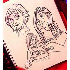 Thrilling Keep A Sketchbook Have Fun Ideas. Awe-Inspiring Keep A Sketchbook Have Fun Ideas. Art Drawings Sketches, Cartoon Drawings, Cartoon Art, Amazing Drawings, Cool Drawings, Figure Drawing Reference, Character Drawing, Character Design Inspiration, Art Sketchbook