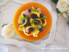 Helena's Kitchen: Mango Mousse Cake (芒果慕斯蛋糕)