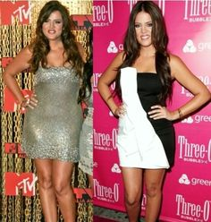 Khloe Kardashian Weight Loss of 20lbs in 20 Days Before and After Pictures...see http://howtoloseweightweekly.org and find out how she did it...
