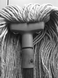 Faces in Everyday Objects~Mop Man~♛