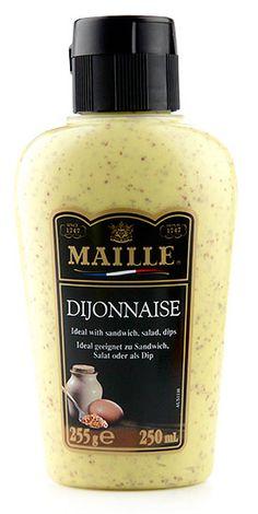 Krem Dijonnaise (250 g) w butelce do wyciskania - Maille