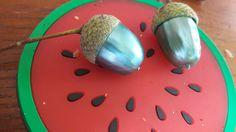 Diy painted acorns :)