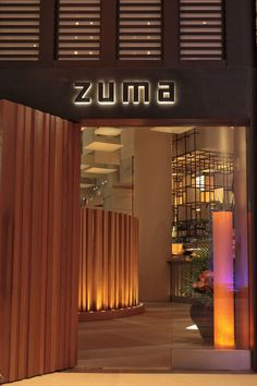 Zuma Restaurant   CUISINE: JAPANESE IZAKAYA  Chef/Owner: Rainer Becker  One of the top hangouts in London's glossy Knightsbridge area, Zuma often attracts a celebrity clientele and is a firm favorite of elite chefs such as Gordon Ramsay and Heston Blumenthal. The menu focuses on simple yet high quality dishes, each prepared with a careful touch and a delicate balance of flavors.