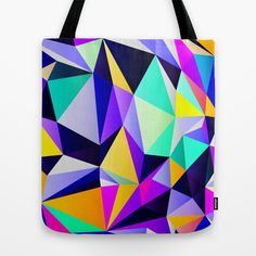 Geometric No. 12 Tote Bag by House of Jennifer - $22.00