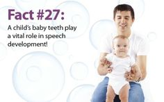 #Lookswoow #DentalFact of the day!  Did you know that a child's first baby #teeth play a vital role in speech development! Care for your little one's #teeth!  It's never too early or too late for a #DentalCheckUp!