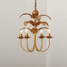 Image result for palm chandelier