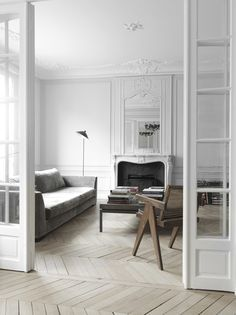 Paris-apartment-herringbone floors-interior-by-Nicolas-Schuybroek-