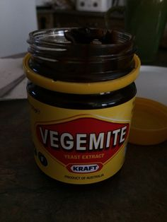 I tried vegemite today
