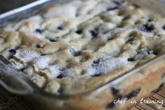 Buttermilk blueberry breakfast cake...want to make this soon!