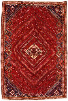 Qashqai - Shiraz Persian Carpet  | unq3486-555 | CarpetU2