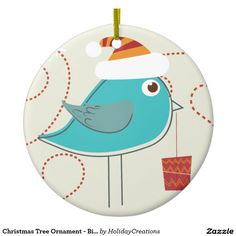 Christmas Tree Ornament - Bird