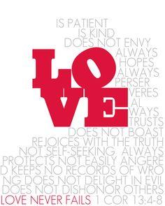 1 Cor 13:4-8