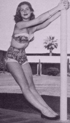 Young Elizabeth Montgomery