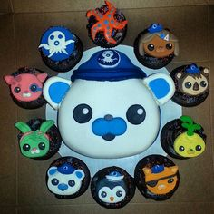 Octonauts cake and cupcakes by Frostings Bake Shop