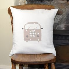 Handmade Cushion - VW Campervan