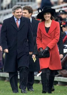 Sandhurst Kate Middleton, Prince William's girlfriend, attends the Sovereign's Parade at the Royal Military Academy Sandhurst to watch the Passing Out Parade on December15, 2006 in Sandhurst, England.