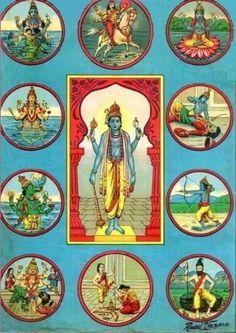Dashavatara Of Lord Vishnu Ji
