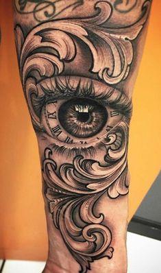 Eye tattoo arm hot guys 29 ideas for 2019 Forarm Tattoos, Dope Tattoos, Badass Tattoos, Arm Tattoos For Guys, Skull Tattoos, Trendy Tattoos, Future Tattoos, Leg Tattoos, Body Art Tattoos
