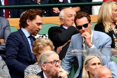 Tom Hiddleston & Benedict Cumberbatch Watch the Matches Together at Wimbledon Photo Tom Hiddleston and Benedict Cumberbatch are enjoying some tennis together! The longtime friends were spotted watching the Men's Singles final between Roger Federer… Tom Hiddleston Loki, Tom Hiddleston Benedict Cumberbatch, Thomas William Hiddleston, Toms, Roger Federer, British Actors, American Actors, Doctor Strange, Wimbledon