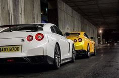 Who needs the Joneses? Try keeping up with the #GTR. #Nissan : @jj.ldnphotography