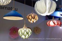 Sachie Muramatsu Japanese Paper Lamps | The Decorating Diva, LLC