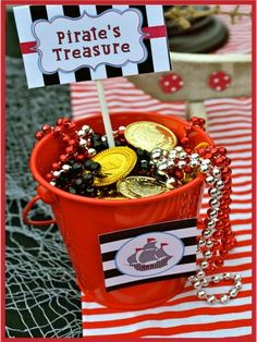 Now would be the time to stock up on buckets for Pirate Treasure.