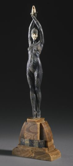 "Demeter Chiparus |  ""ETOILE DE MER"" -  circa 1928"