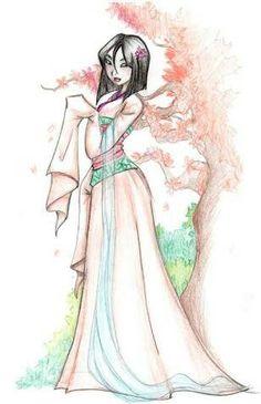Mulan illustration