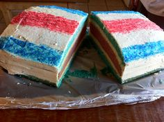Sept 15, Costa Rican Independence Day Cake