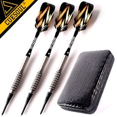 36.41$  Watch here - http://alirdq.shopchina.info/go.php?t=32751400575 - New CUESOUL Soft Tip Tungsten Darts 18g 15cm Electronic Dart  Packaging With Case  #buychinaproducts