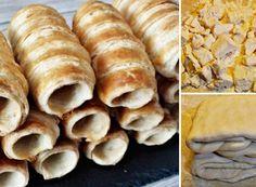 Dokonalé pudinkáče s vanilkovým krémem a jahodami   NejRecept.cz Biscuits, Bread, Dishes, Sweet, Food, Hampers, Author, Essen, Crack Crackers
